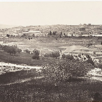 Jerusalem, from the Mount of Olives, No.1.